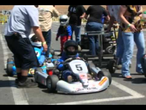 Kid Kart racing Blake Frey
