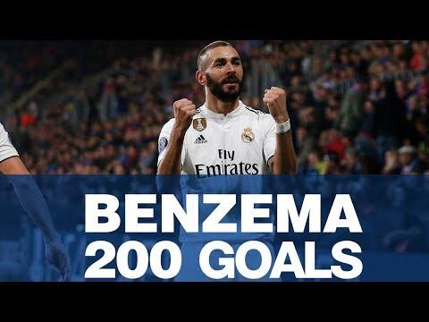 KARIM BENZEMA | 200 Real Madrid goals!