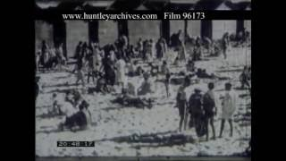 Beaches Of South Africa's Cape Coast, 1950s - Film 96173