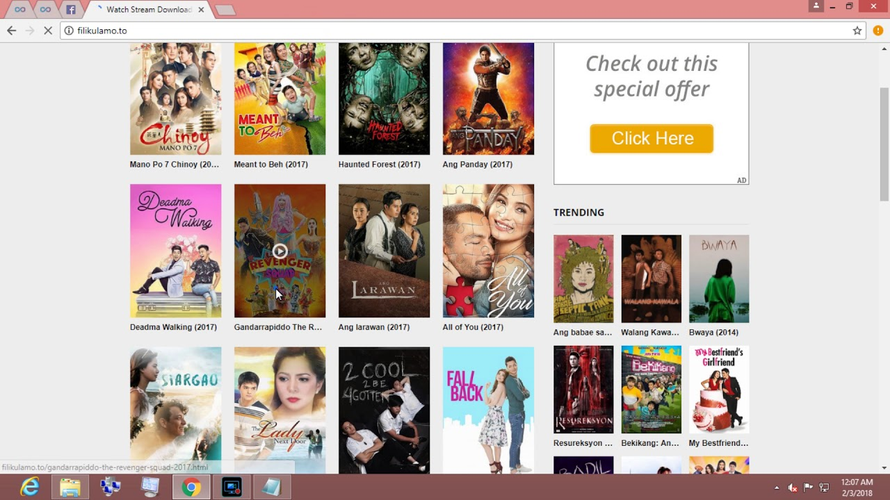where to download filipino movies using utorrent