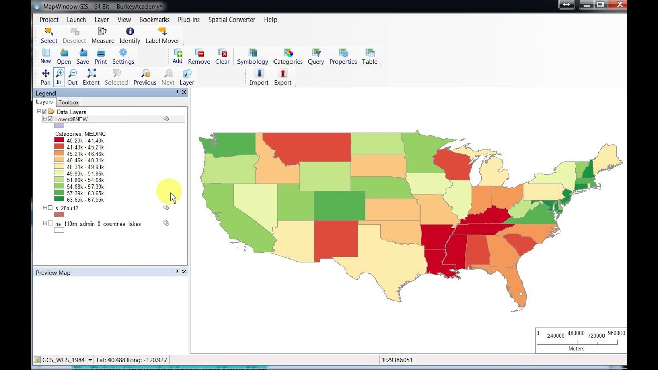 Introduction to gis two adding data and making for Diva gis