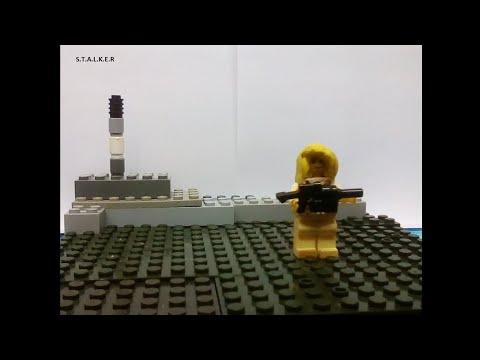 Сталкер  мультфильм лего 5 серия Stop Motion Studio