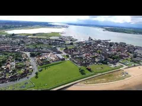 Harwich and Dovercourt by Drone