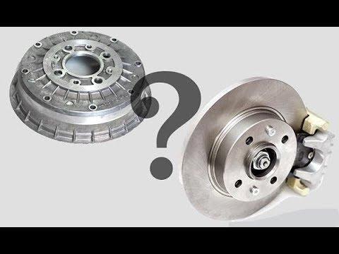 Почему барабанные тормоза продолжают устанавливать на машины,и почему они хуже дисковых