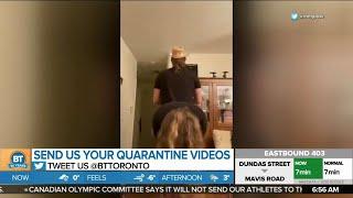 One couple's hilarious quarantine video is trending!
