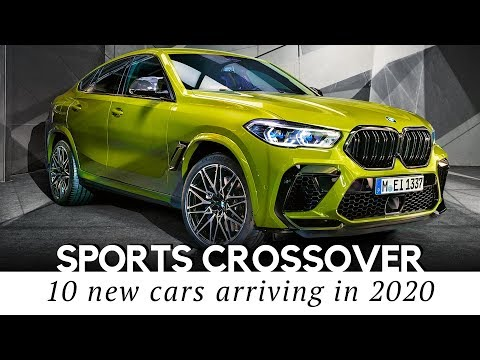 10 New Crossovers Combing Advantages of a Sports Car and an SUV