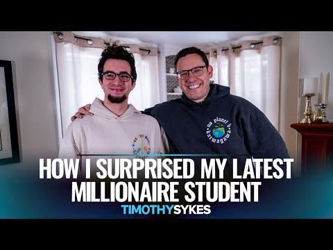 How I Surprised My Latest Millionaire Student