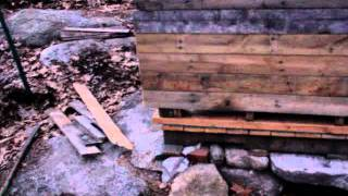 Pallet Tractor Shed Part 6