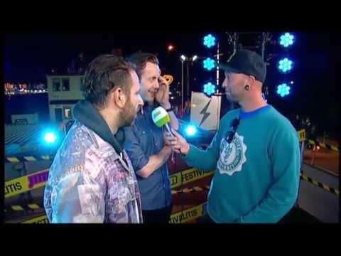 Interview Chase and Status @ Pukkelpop 2013