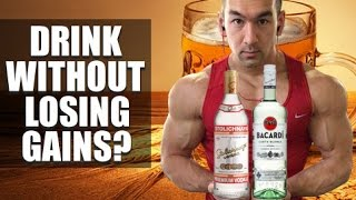Alcohol & Bodybuilding: Can You Drink Without Losing Gains?