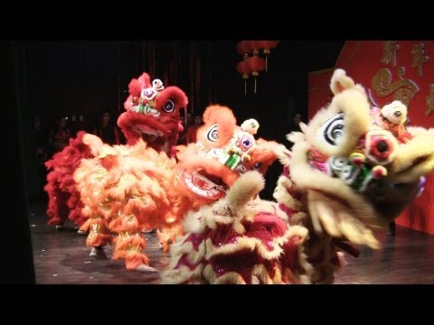 Lion Dance Calgary 2013 At Chinese Cultural Centre