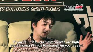 PES 2011 (PS3/X360/PC/PSP/Wii) - Master League Online mode Interview [HD]