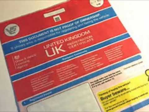 V5C Registration document who can access your details uk