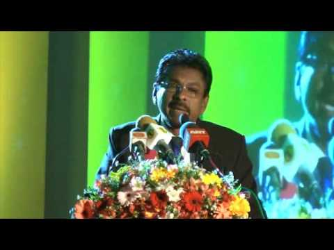 Mr. Lalith Kahatapitiya's attractive speech at Sahasak Award Ceremony 2014