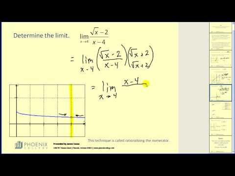 Determining Limits
