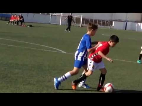 "Super jugadas ""Mini James""Edwin Jr Nàstic 2017"