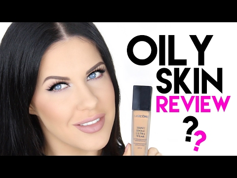 LANCOME TEINT IDOLE LONG WEAR FOUNDATION FIRST IMPRESSION & REVIEW!! | OILY SKIN APPROVED???