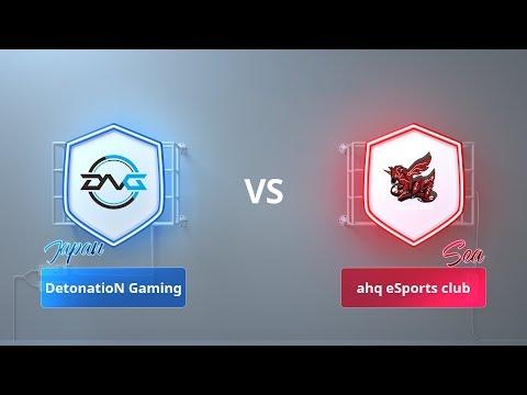 【DetonatioN Gaming VS ahq eSports club】- 2018 CRL亞洲賽區第一賽季季賽第4週