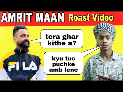 Combination | Amrit Maan | Latest Punjabi New Songs Roast Video | Harshdeep Singh