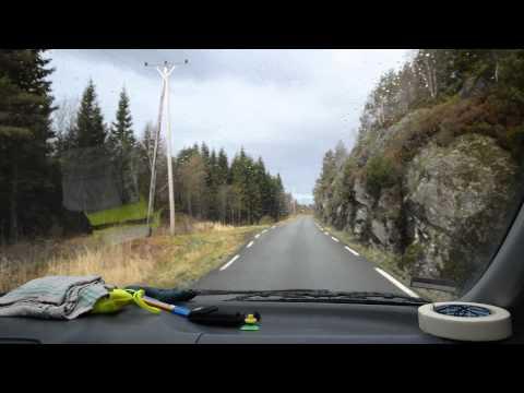 Fahrt nach Lygra/Nordhordaland Norwegen