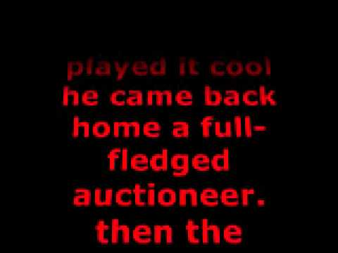 The Auctioneer - Leroy Van Dyke (With Lyrics)