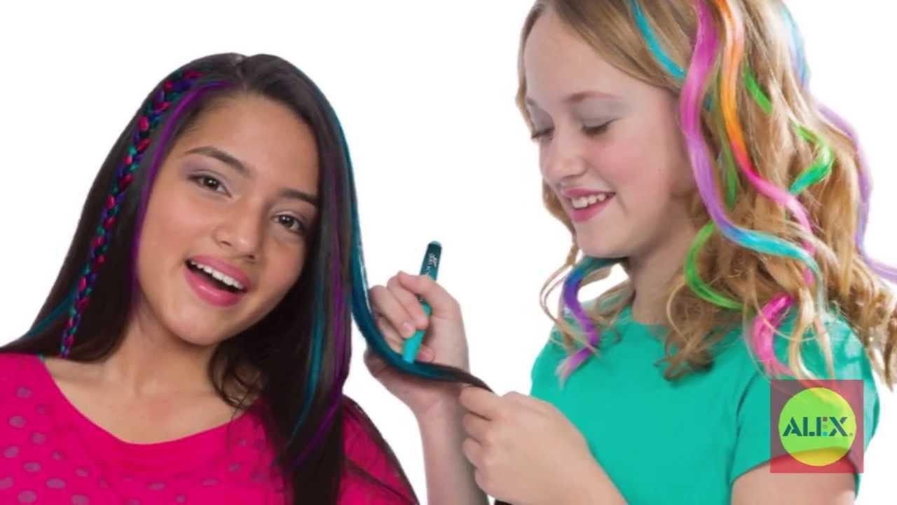 Alex Toys Hair Chalk Pens Youtube
