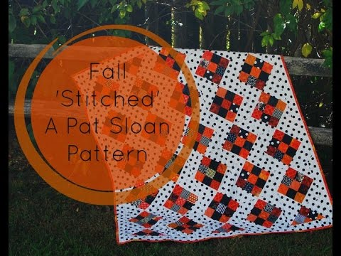 Chat With Pat Sloan - A UFO Finish! My Fall Stitched