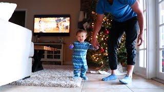 Landon Is Taking Baby Steps!