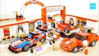 レゴ スピードチャンピオン フェラーリ アルティメットガレージ 75889 セット説明 7:44~ / LEGO Speed Champions Ferrari Ultimate Garage