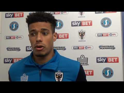 Lyle Taylor loving life at AFC Wimbledon