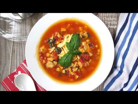 Chicken Tortilla Soup (South Beach Phase 3) | Dietplan-101.com