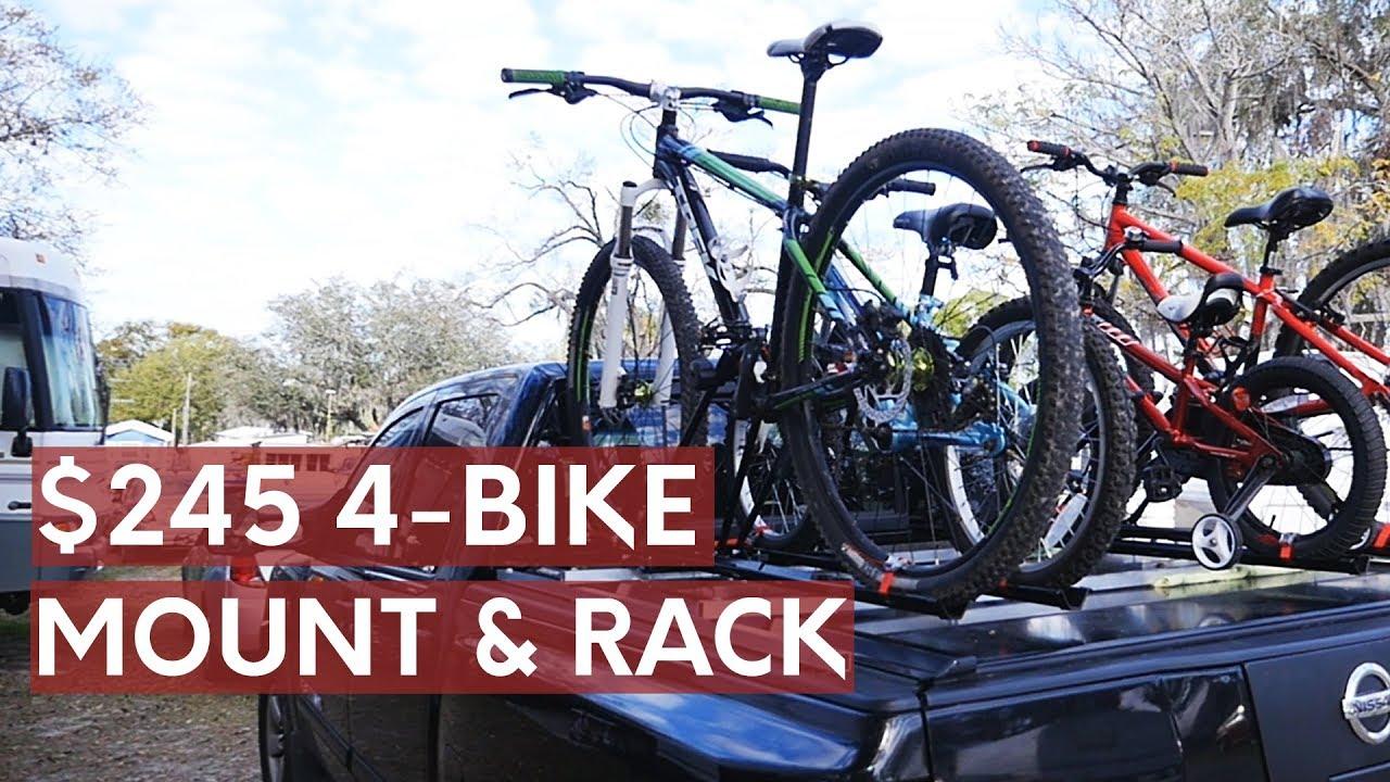 Diy Bike Rack For Truck Bed Cover Swagman Bike Rack Review Youtube