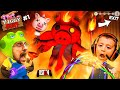PIGGY HUNT #1 It's AMONG US but a Psycho Pig Hunts You While You do Tasks!  FGTeeV Escape Gameplay