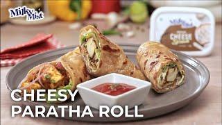 Cheese Paratha Recipe | Veg Cheese Roll | Cheese Burst Paratha