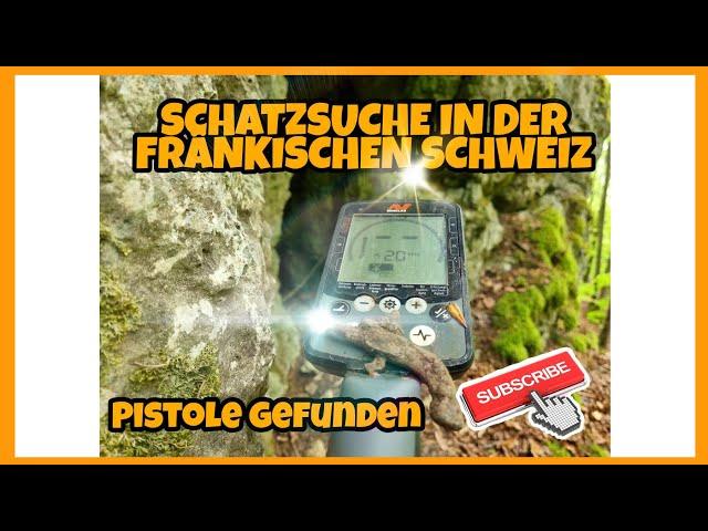 Im #Wald in der schönen  FRÄNKISCHEN SCHWEIZ auf #Schatzsuche Gold Diggers Germany