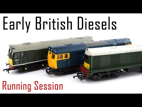 A Running Session with Early British Diesels
