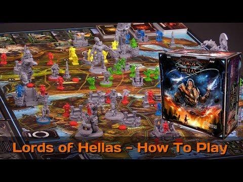 Lords of Hellas | Board Game | BoardGameGeek
