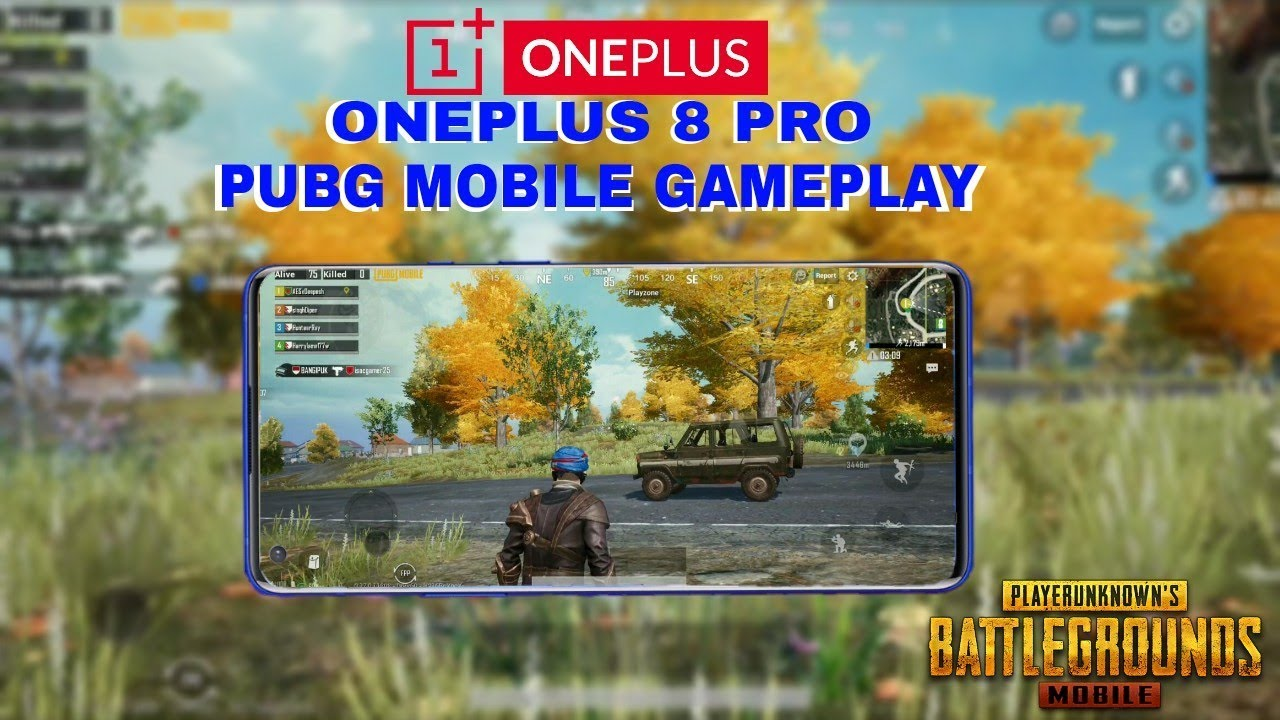 OnePlus 8 Pro PUBG Mobile 60FPS Gameplay Test