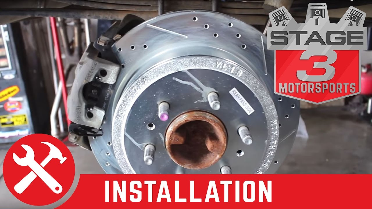 How To Replace Rotors And Pads And Do A Brake Job On A 2009 2014 F 150