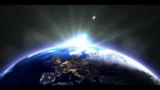 Sunrise over earth space view (After Effects CS6)
