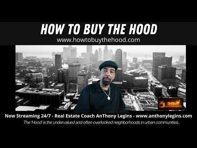 Watch HOW TO BUY THE HOOD - EPISODE 1 - An ORIGINAL REH TV SERIES -with SPECIAL GUEST JoEL McNair