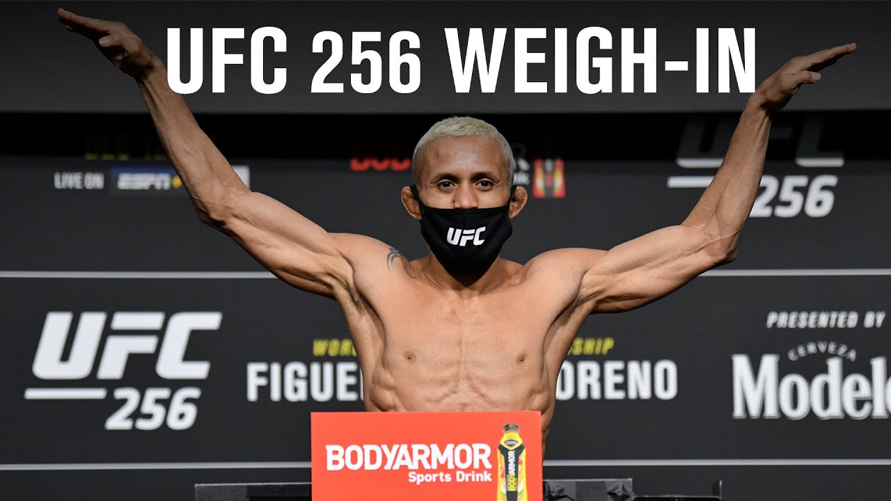 Ufc 256 Weigh In Results Flyweight Title Official Figueiredo And Moreno Cleared Fightmag