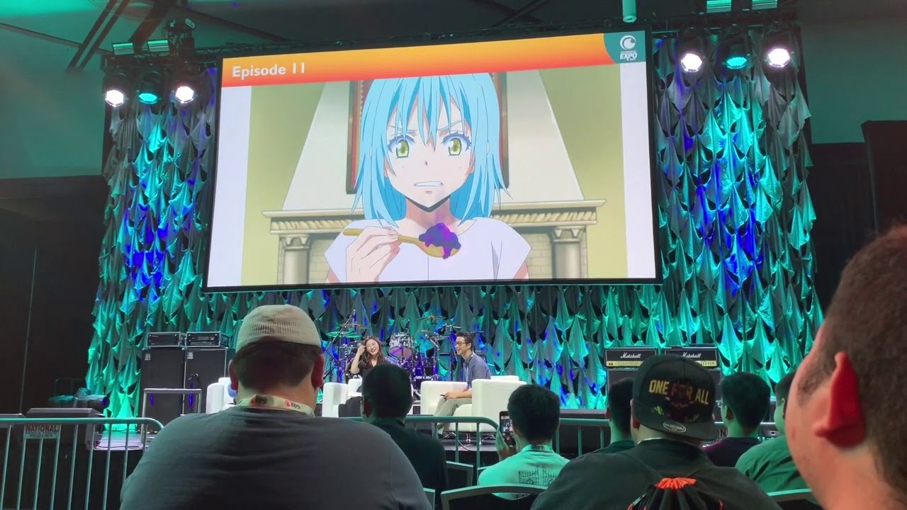 Live voice acting of rimuru tempest by miho okasaki. Live Voice Acting Of Rimuru Tempest By Miho Okasaki Youtube