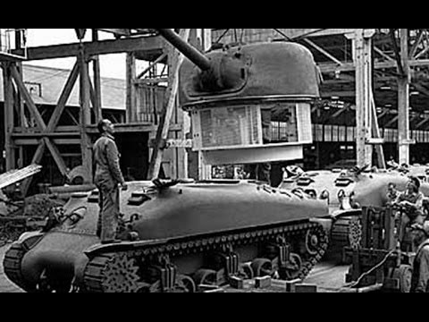 HOW IT WORKS: WW2 Tank Factories (720p)