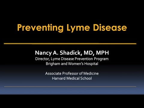Preventing Lyme Disease Video – Brigham and Women's Hospital