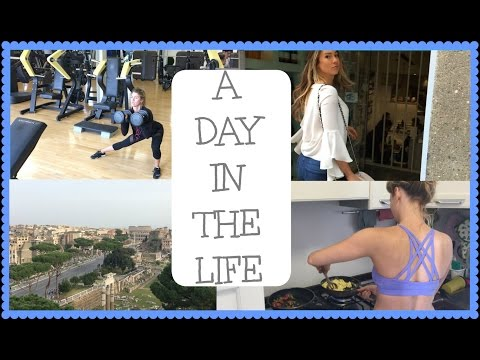 Day In The Life | Anna Victoria | Tour of Rome
