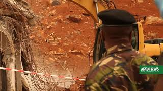 Sierra Leone rescuers continue to search mudslide site