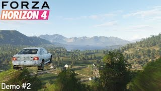 DRIVING OFF ROAD IN A COSWORTH! | Forza Horizon 4 Demo #2