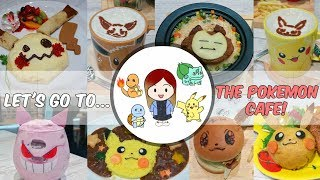 Alyce at the TOKYO POKEMON CAFE | How to Book & Get There | VLOG