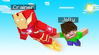 Minecraft BUT I Am IRON MAN! (awesome)